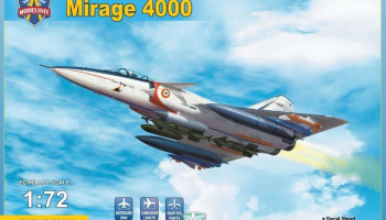 1/72 Mirage 4000 (+ new sprues with armament)