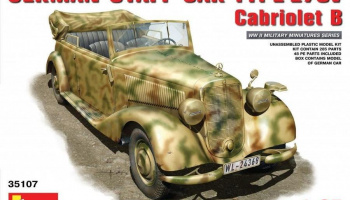 German Staff Car Typ 170V. Cabriolet B 1/35 - MiniArt