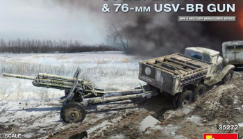 1/35 Soviet 2 t 6x4 Truck with 76 mm USV-BR Gun