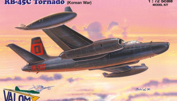 1/72 N.A. RB-45C Tornado (Korean War)