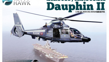 SA.365F Dauphin II 1/48 - Kitty Hawk