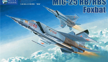 MIG-25 RB/RBT Foxbat 1/48 - Kitty Hawk