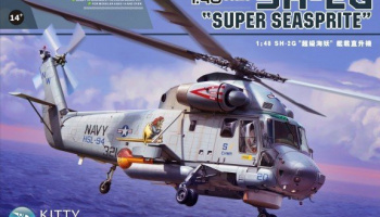 SH-2G Super Seasprite 1/48 - Kitty Hawk