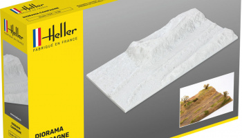 SOCLE DIORAMA CAMPAGNE 1:43 – Heller