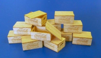 1/35 US Wooden boxes for bottles