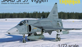 1/72 SAAB SF37 Viggen photo recce