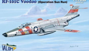 1/72 RF-101C Voodoo (SUN-RUN)