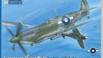 1/48 Supermarine Seafire Mk.III Last Fights Over