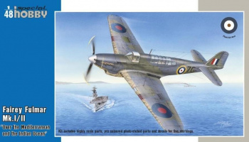 1/48 Fairey Fulmar Mk.I/II Hi-Tech version