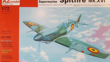1/72 Spitfire Mk.XVIe Early