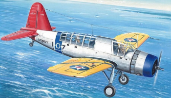 "1/72 Vought OS2U Kingfisher Mk.I. ""Wheeled Version"""