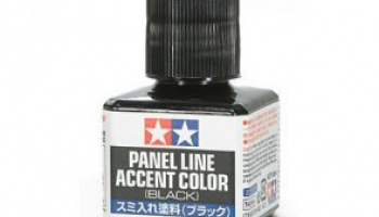 Panel Line Accent Color (Black) - Tamiya