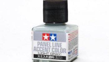 Panel Line Accent Color Light Gray 40ml - Tamiya