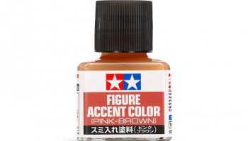 Figure Accent Color (Pink-Brown) - Tamiya