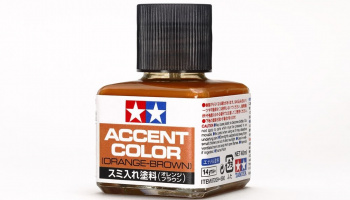 Panel Line Accent Color Orange-Brown 40 ml. - Tamiya