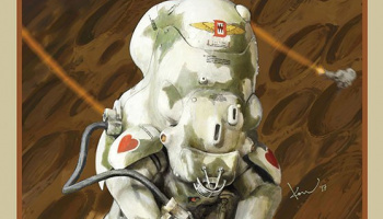 Maschinen Krieger Moon Type MK44H Prototype Limited Edition (1:20) - Hasegawa