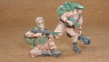 1/35 British soldiers (Iraqs war) (2 fig.)