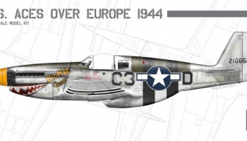 1/72 P-51B Mustang US Aces over Europe