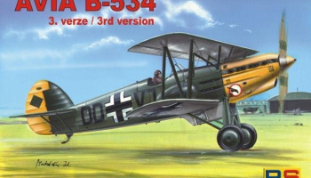 1/72 Avia B-534 III.version