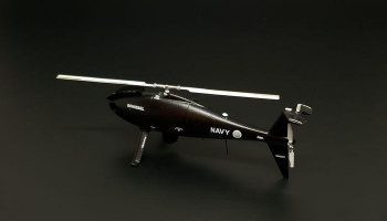 1/72 S-100 Camcopter resin construction of for unmanned helicopter