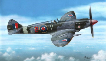 Spitfire F Mk.21 Post Service 1/72  – Special Hobby