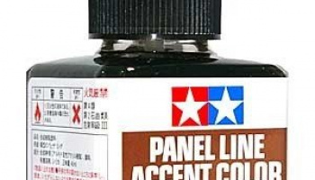 Panel Line Accent Color 40ml. (Brown) - Tamiya