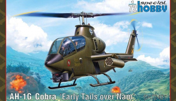 1/72 AH-1G Cobra 'Early Tails'