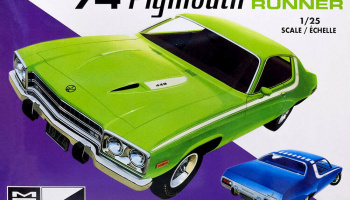 Plymouth Road Runner 1974 1/25 - MPC