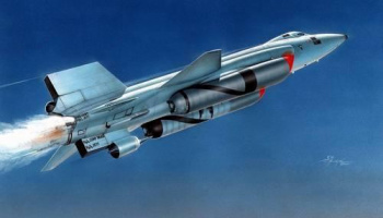 X-15A-2 with Dummy Scramjet 1/72 – Special Hobby