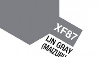 XF-87 IJN Gray Maizuru Arsenal ACRYLIC 10ml - Tamiya