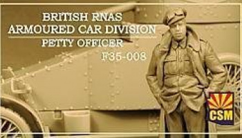 1/35 British RNAS Armoured Car Division Petty Officer
