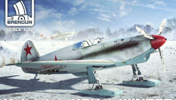1/72 Yak-1 Winter plastic midel kit
