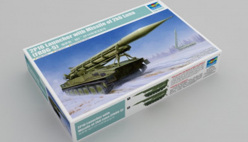 2P16 Launcher with Missile of 2k6 Luna (FROG-5) 1/35 - Trumpeter