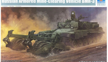 Russian Armored Mine-Clearing Vehicle BMR-3 1:35 - Trumpeter