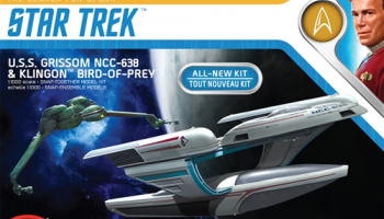 Star Trek U.S.S. Grissom / Klingon Bird of Prey 1:1000 - Polar Lights