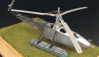 1/72 Vought-Sikorsky VS-300 PE and resin construction kit US helicopter