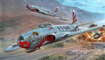 1/32 F-80C Over Korea – Special Hobby