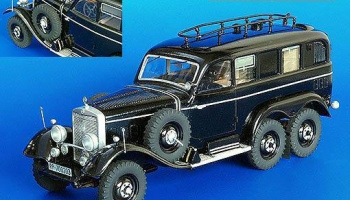 German radio car G4 1/35 - Plus Model