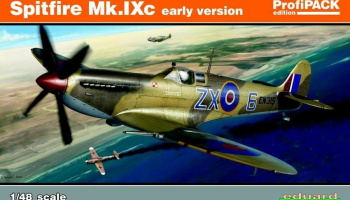 Spitfire Mk.IXc early version (Reedition) 1/48 – EDUARD