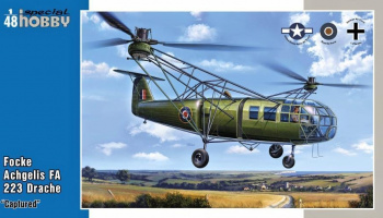 1/48 Focke Achgelis FA 223 Drache 'Captured'