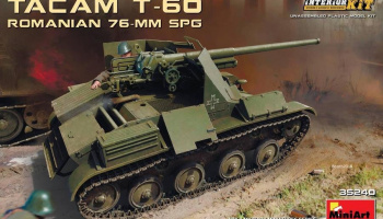 1/35 Romanian 76-mm SPG Tacam T-60 Interior Kit