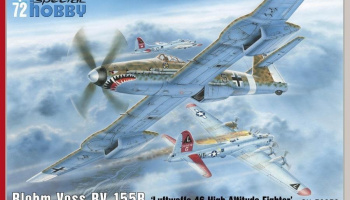 1/72 Blohm Voss BV 155B-1 Luftwaffe 46 High Altitude Fighter