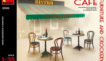 1/35 Café Furniture & Crockery