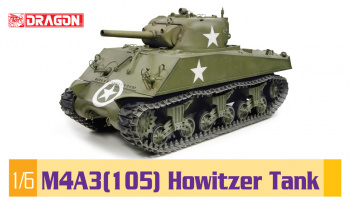 M4A3(105) Howitzer Tank (1:6) - Dragon