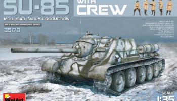 1/35 SU-85 Mod. 1943 (Early Production) w/Crew