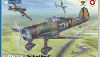 1/48 Fokker D.21 Dutch and Dannish