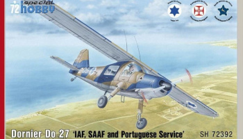 1/72 Dornier Do 27 IDF, SAAF and Portuguese Servic