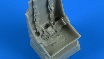1/32 P-51B Mustang seat with safety belts for x kit