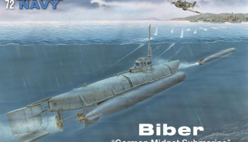 1/72 Biber German Midget Submarine