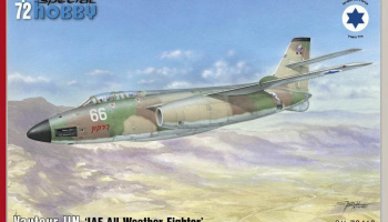 1/72 S.O. 4050 Vautour IIN 'IAF All Weather Fighter'